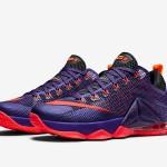 "Nike LeBron 12 Low ""Court Purple"" Drops Next Month"
