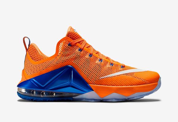 nike lebron 12 low orange