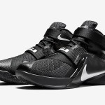"""Closer Look at """"Blackout"""" Nike LeBron Soldier 9"""