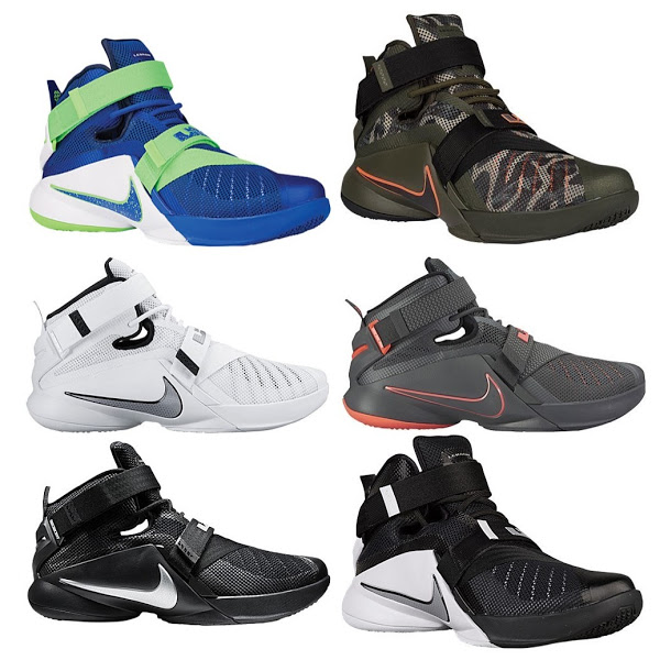 on sale a2bfe 9dd56 The Nike LeBron Soldier 9 Launches Today in 6 Colorways!   NIKE LEBRON - LeBron  James Shoes