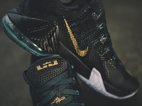 finest selection 815db 30f63  275  Release Reminder  Nike LeBron 12 Low SVSM   Carbon   NIKE LEBRON -  LeBron James