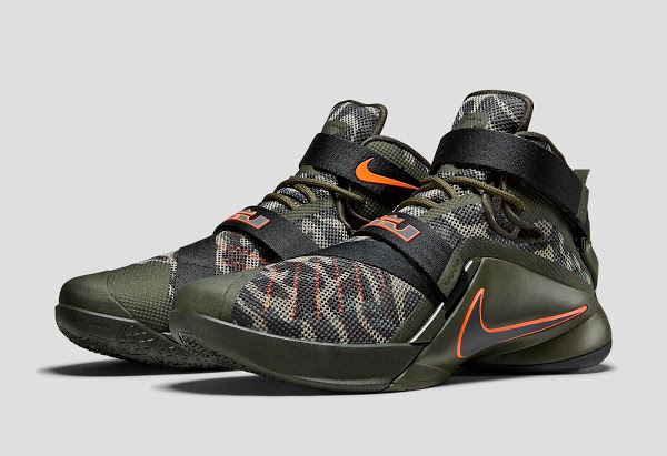 5c4656d95d5 New Arrival 2015 Nike Zoom LeBron Soldier 8 Black Black Wolf Gre ...