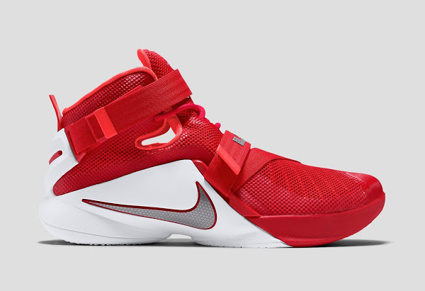 Nike Lebron Soldier 9 Red