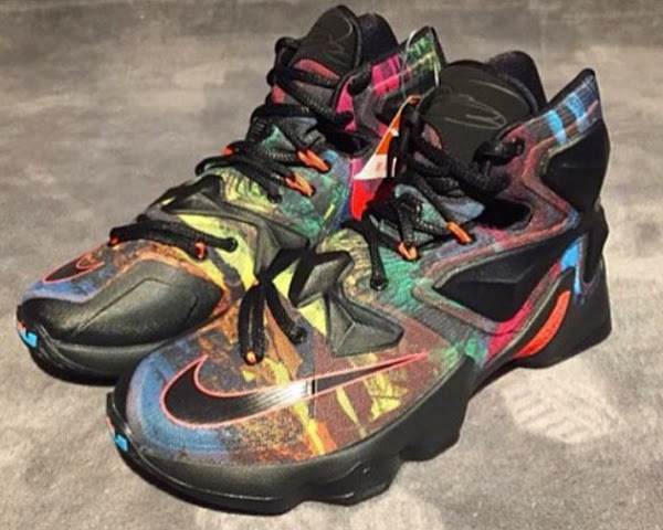 Does This Crazy Colored Nike LeBron 13 Save the Shoe   d099a870a6