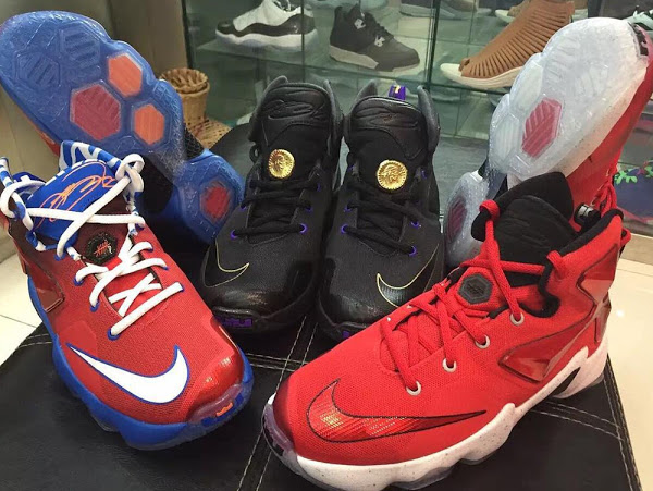 info for 80fc7 effa8 ... 16-09-2015 All The Unveiled Kids  Nike LeBron 13 s Pose Together