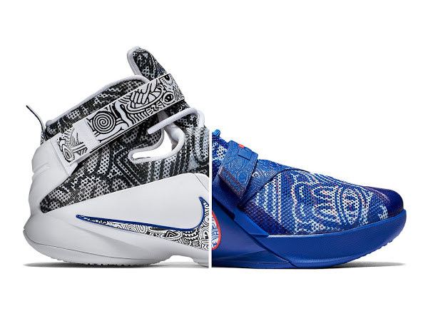 low priced 4d5ca 71bf5 Official Look at FREEGUMS LeBron Soldier 9… Both Pairs ...