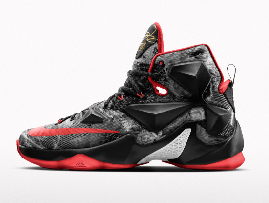 1c1a98e8dc3 Nike Launches Special LeBron 13 iD to Celebrate James' 25K Points | NIKE  LEBRON - LeBron James Shoes