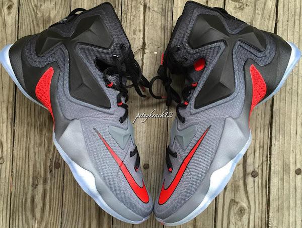 half off 3a622 b5cdc ... 28-12-2015 Closer Look at Nike LeBron XIII Ohio State Buckeyes PE (1 of  3)