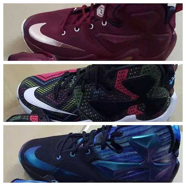 aff265ae0715 3 New LeBron 13 s Including BHM Leaked in Kids  Sizes