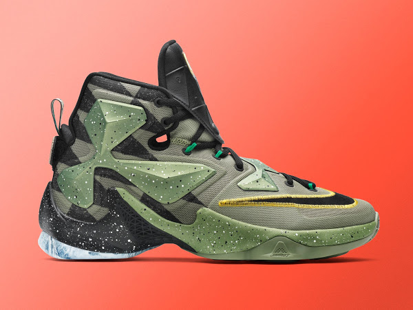 957dd12d288cf6 31-01-2016 Official Look at Nike LeBron 13 for 2016 NBA All-Star Game in  Toronto ...