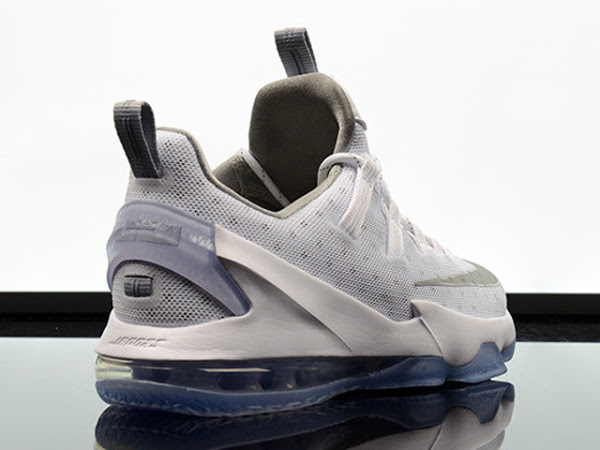 finest selection 5ed84 89c43 Available Now: Nike LeBron 13 Low White & Silver | NIKE ...