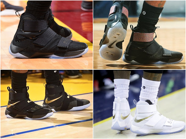 Breaking Down Every Shoe Worn by The King in 2016 NBA Finals | NIKE LEBRON - LeBron James Shoes