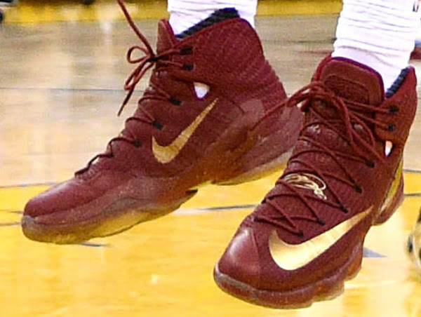 575a775f62e ... 04-06-2016 Closer Look at James  LeBron 13 Elite NBA Finals PE from  Game 1 ...