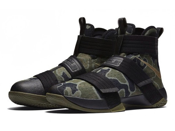 nike lebron soldier 10 goes truly army camo style nike