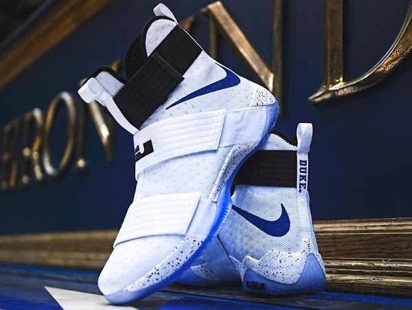 766396c15eb54 ... Nike Basketball Academy; 19-12-2016 Duke Blue Devils Received Their  Special LeBron Soldier 10 PEs ...