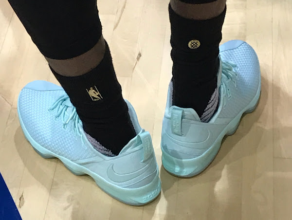 ... 04-06-2017 King James Introduces 2x Nike LeBron 14 Low in Practice ...