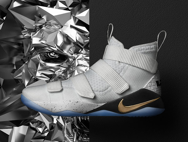 "timeless design b03df 0af52 ... 03-06-2017 Available Now Nike LeBron Soldier XI (11) ""Court General"""