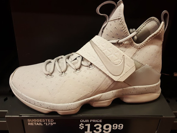 665763c2e8e 06-09-2017 3M Covered Grey-out Nike LeBron 14 Joins Outlet Exclusive ...
