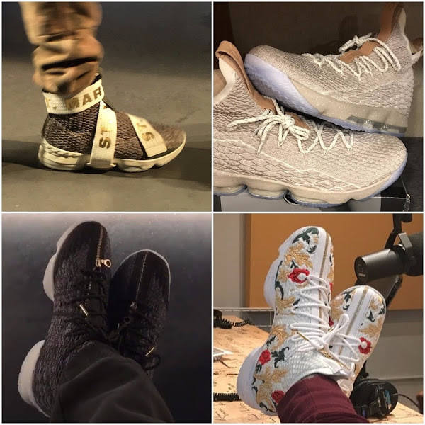 e48378f927d ... KITH Unveil  Long Live the King  Collection Chapter Two  08-09-2017  Different Shapes and Forms of the Nike LeBron 15 ...
