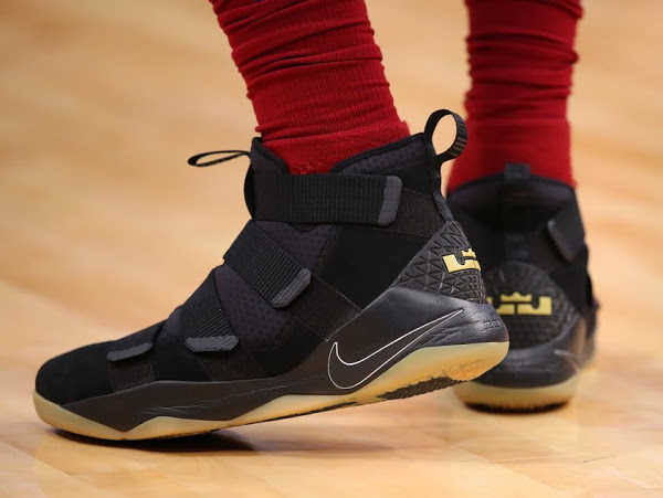 sports shoes c637b b6e19 King James Rolls Over Detroit in Nike LeBron Soldier 11 ...