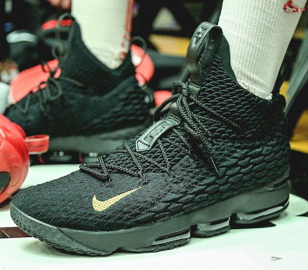 new styles 50301 04849 King James Gifts Special LeBron 15 to Teams at PK80 ...
