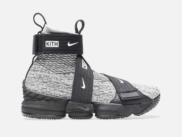 Detailed Look at KITH X Nike LeBron 15