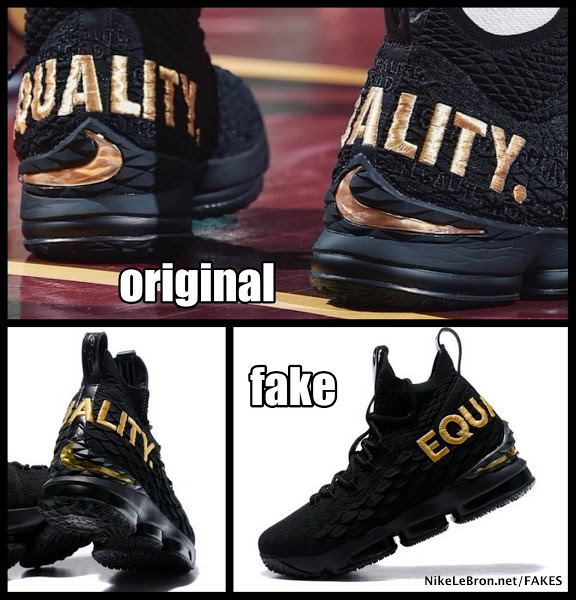 wholesale dealer de1dd 846ed How to Avoid Buying Fake Nike LeBron 15 | NIKE LEBRON ...