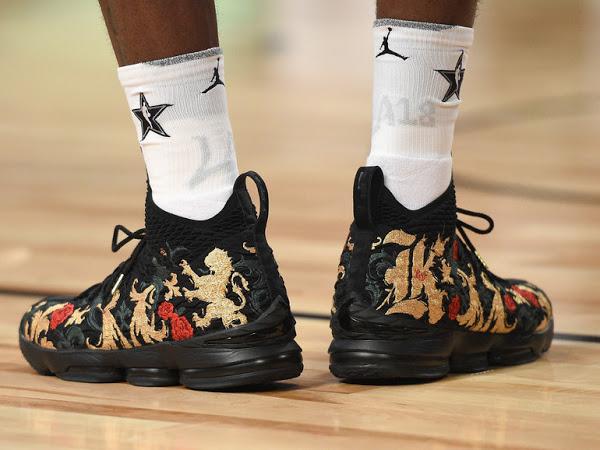 King James Wins 2018 NBA All-Star MVP in LeBron 15 KITH ...  King James Wins...