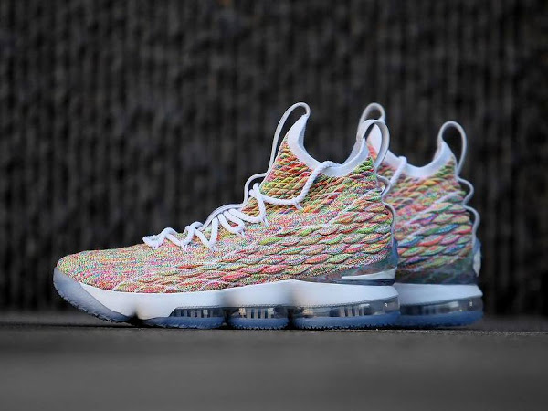 495847d17fa Closer Look at  Fruity Pebbles  LeBron 15 That s Due on Easter ...