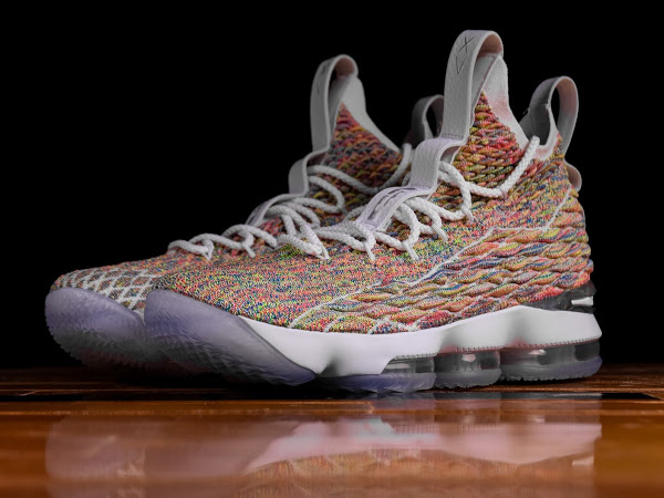 0504de22196 Closer Look at  Fruity Pebbles  LeBron 15 That s Due on Easter ...