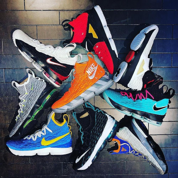 the latest a9dbf a15fd Meet 9 out of 10 LeBron Watch 15s at House of Hoops in ...