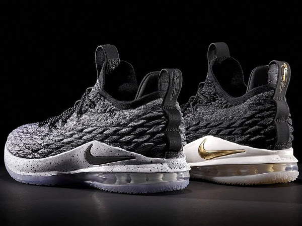the best attitude 3e375 67527 Release Reminder: 'Black/Gold' & 'Ashes' Nike LeBron 15 Lows ...