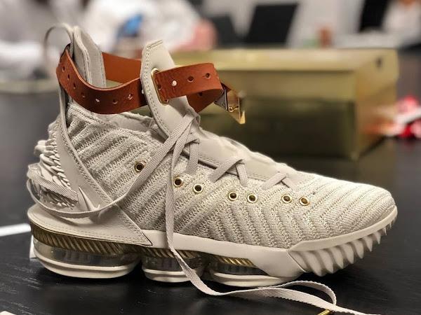 "... 05-09-2018 LeBron James Unveils ""Harlems Fashion Row"" Nike LeBron XVI"